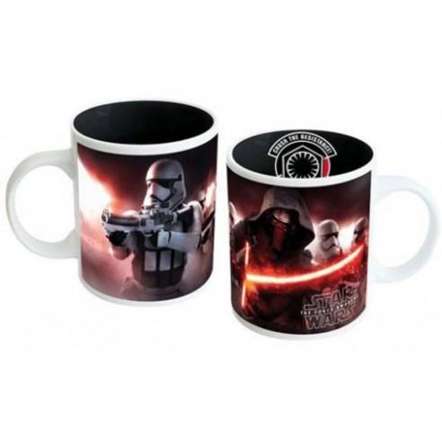 Taza Star Wars Kylo Ren y Stormtroopers Episodio VII