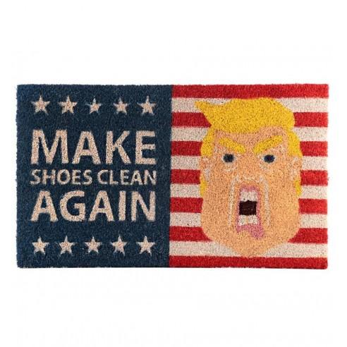 "Felpudo El Presidente Trump ""Make Shoes Clean Again"""