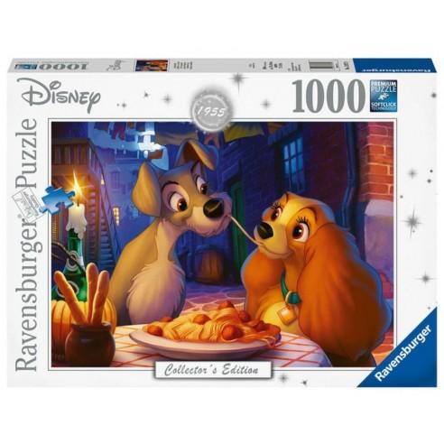 Puzzle La Dama y el Vagabundo Disney 1.000 piezas