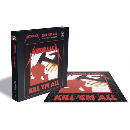 Puzzle Metallica Kill 'Em All 500 piezas
