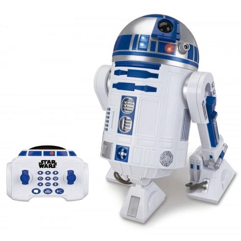 Vehículo R2-D2 Star Wars Radiocontrol con Luz y Sonido Interactivo