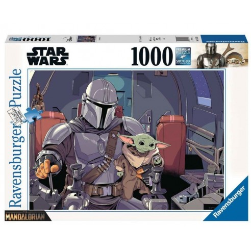 Puzzle Star Wars The Mandalorian 1.000 piezas