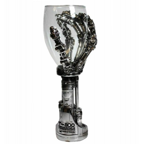 Copa con Mano Terminator