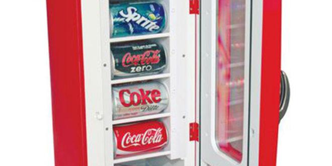 Nevera dispensadora Coca-Cola