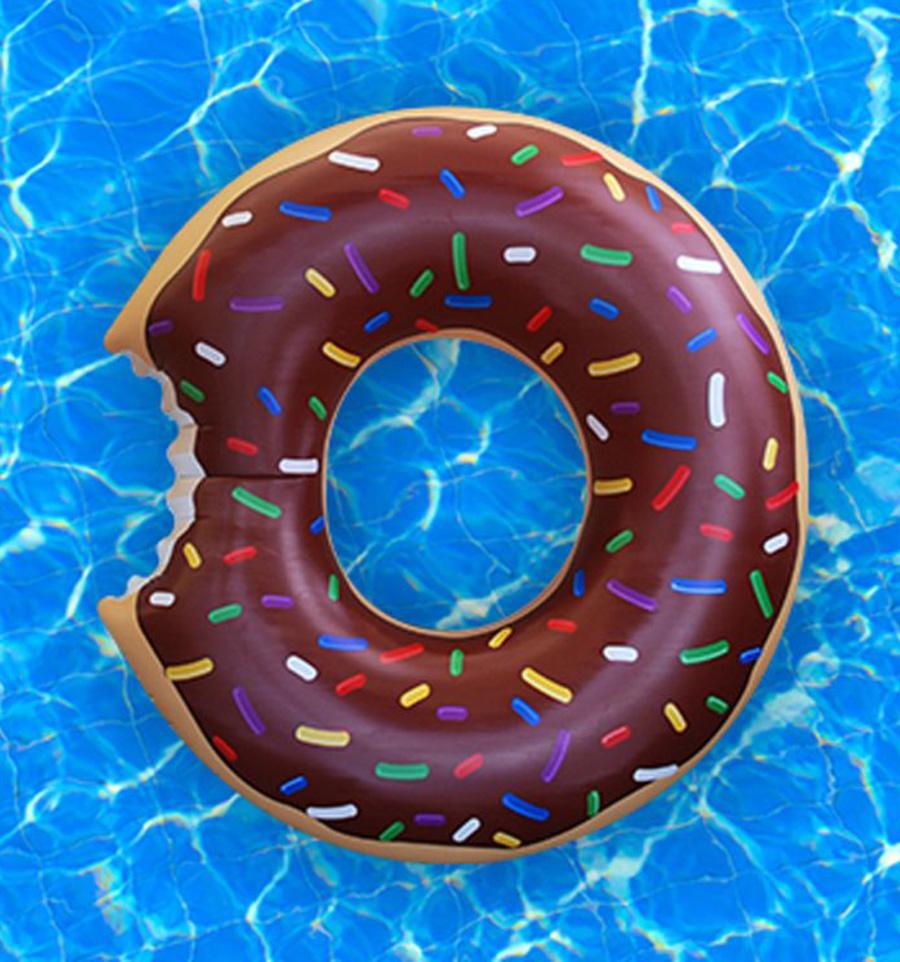 flotador gigtante donut choco
