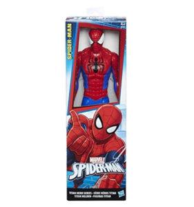 figura articulada spiderman caja