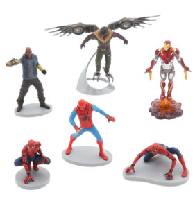 set figuras spiderman homecoming