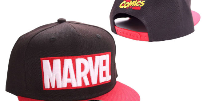 gorra logo Marvel