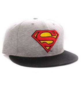 Gorra Superman Vintage gris