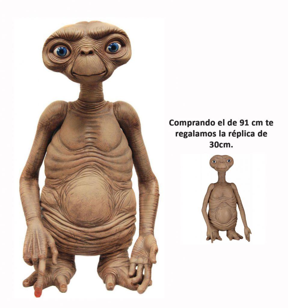 Figura E.T. réplica neca 91cm + regalo