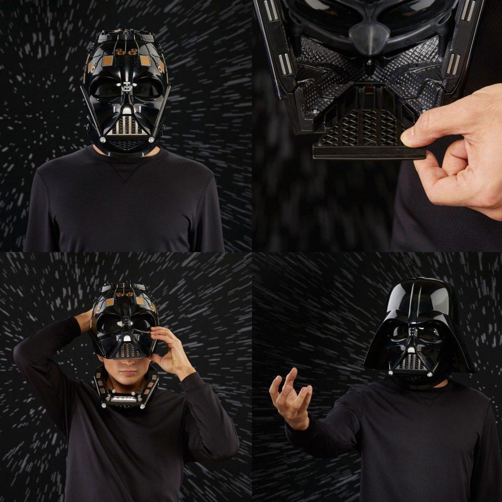 Darth Vader casco electrónico